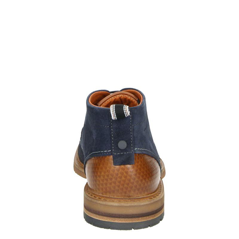 Van Lier - Hoge nette schoenen - Blauw
