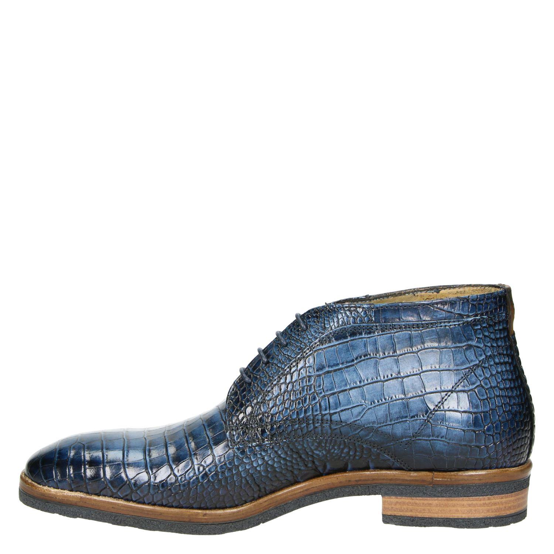 Giorgio - Lage nette schoenen voor heren - Blauw unfiEm1