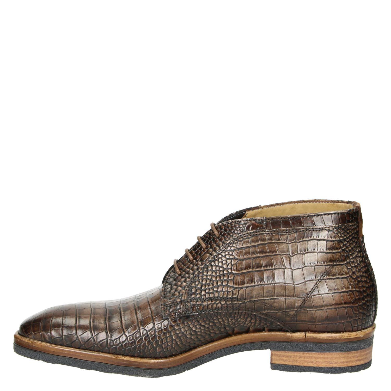 Giorgio - Lage nette schoenen voor heren - Bruin Q5MvgeS