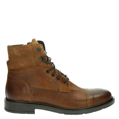 Geox heren boots cognac