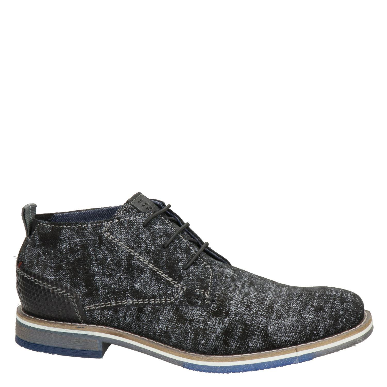 Bugatti - Lage nette schoenen voor heren - Zwart TglMaPM