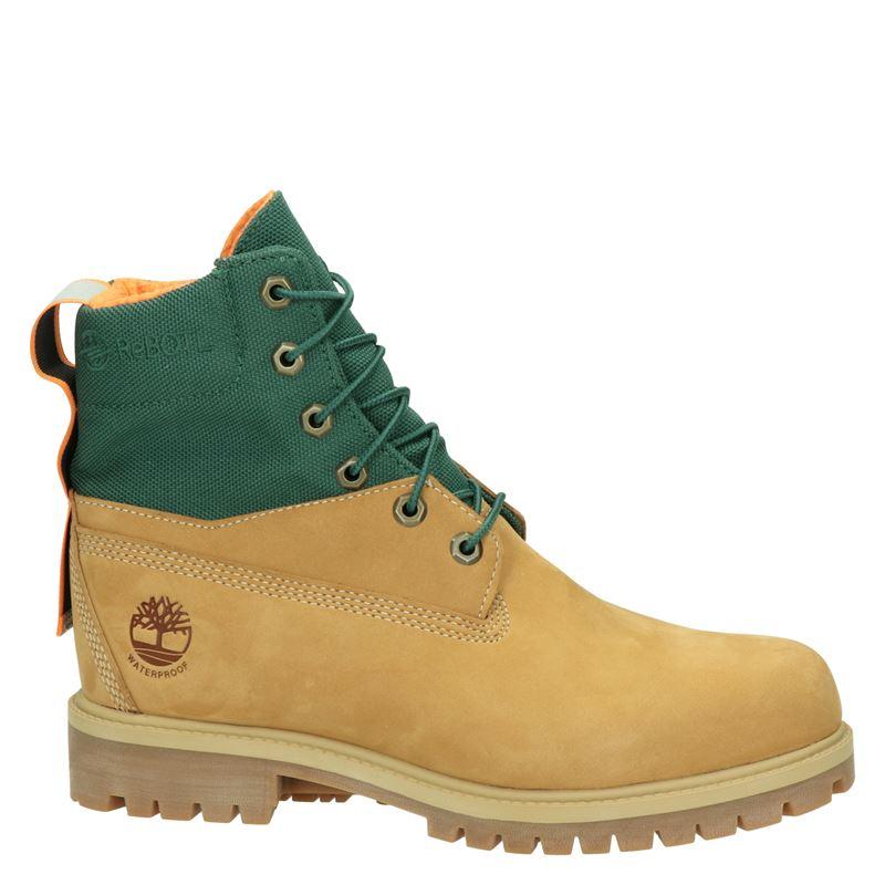 Timberland Premium Boots Rebotl - Veterboots - Geel
