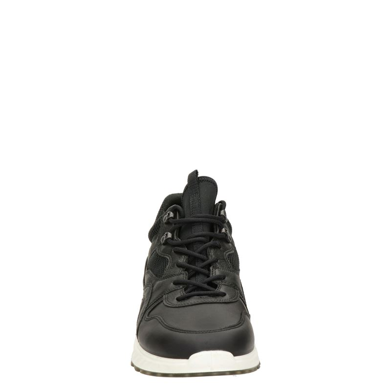 Ecco St.1 - Lage sneakers - Zwart