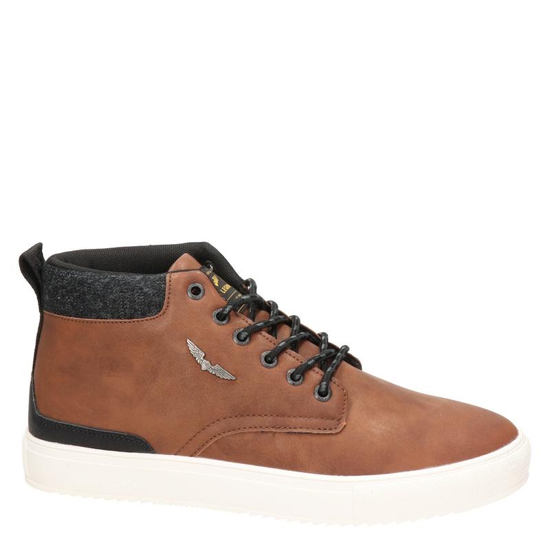 PME Legend Lexin-T - Hoge sneakers - Cognac
