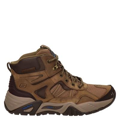 Skechers Arch Fit Recon - Hoge sneakers - Bruin