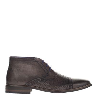 Braend heren hoge nette schoenen grijs