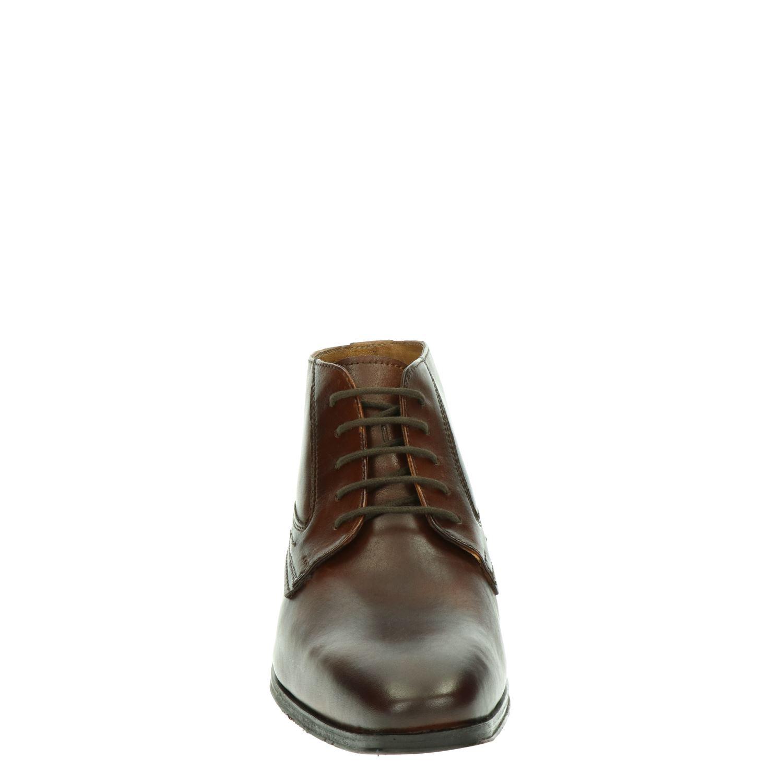 Nelson - Hoge nette schoenen voor heren - Cognac YqYDOt9