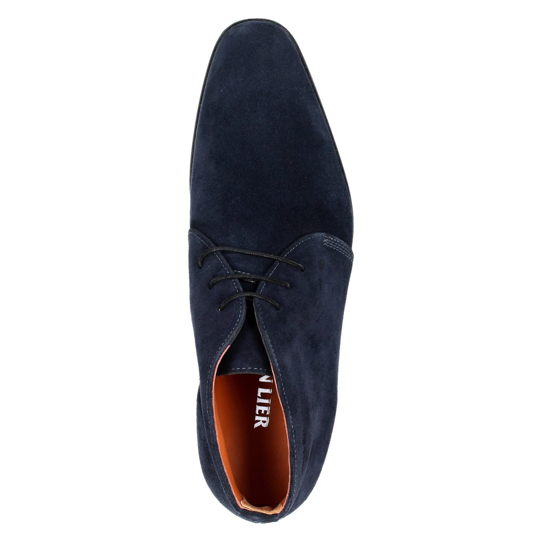 176bb6e5fc3 Van Lier 6001 heren hoge nette schoenen blauw