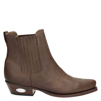 Loblan heren rits- & gesloten boots bruin