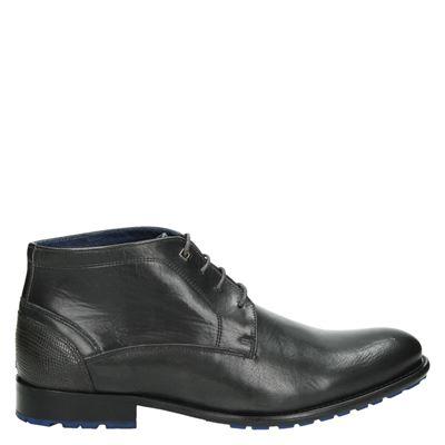 Nelson heren nette schoenen grijs