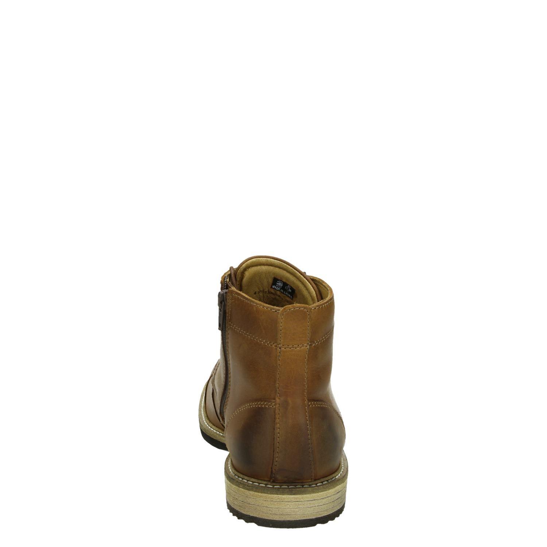 Cognac Ecco Heren Boots Kenton Ritsamp; Normaal Gesloten K1clFJ