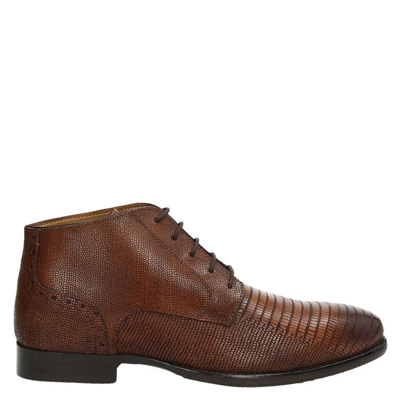 Nelson - Hoge nette schoenen - Cognac