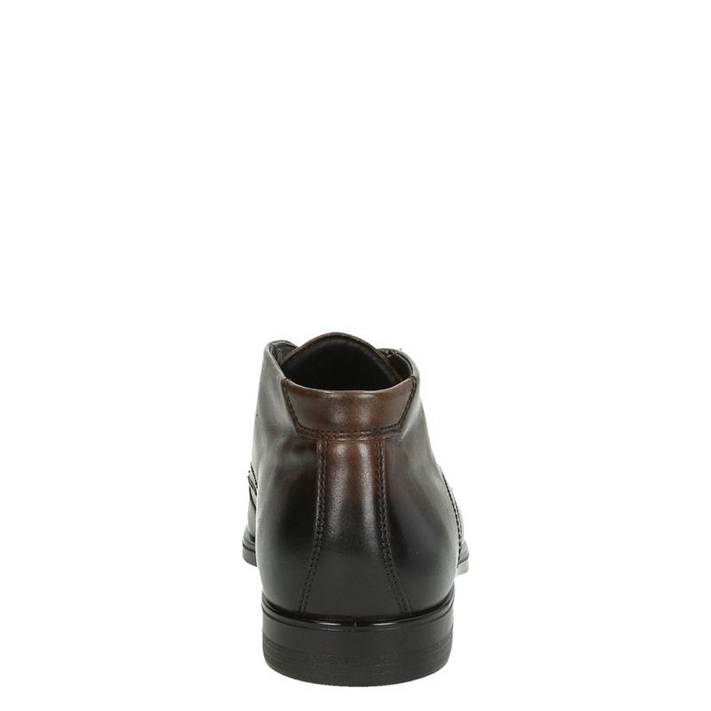 Ecco Melbourne - Hoge nette schoenen - Bruin