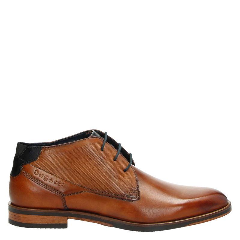 Bugatti - Hoge nette schoenen - Cognac