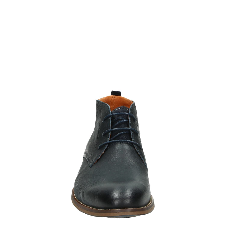 Van Lier hoge nette schoenen blauw