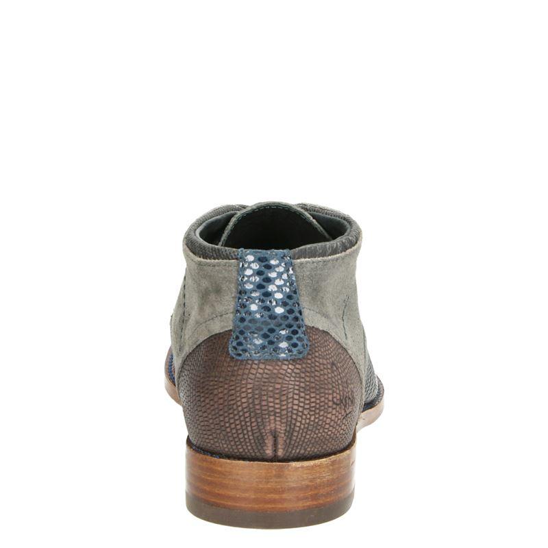 Rehab Salvador Zig Zag - Hoge nette schoenen - Grijs