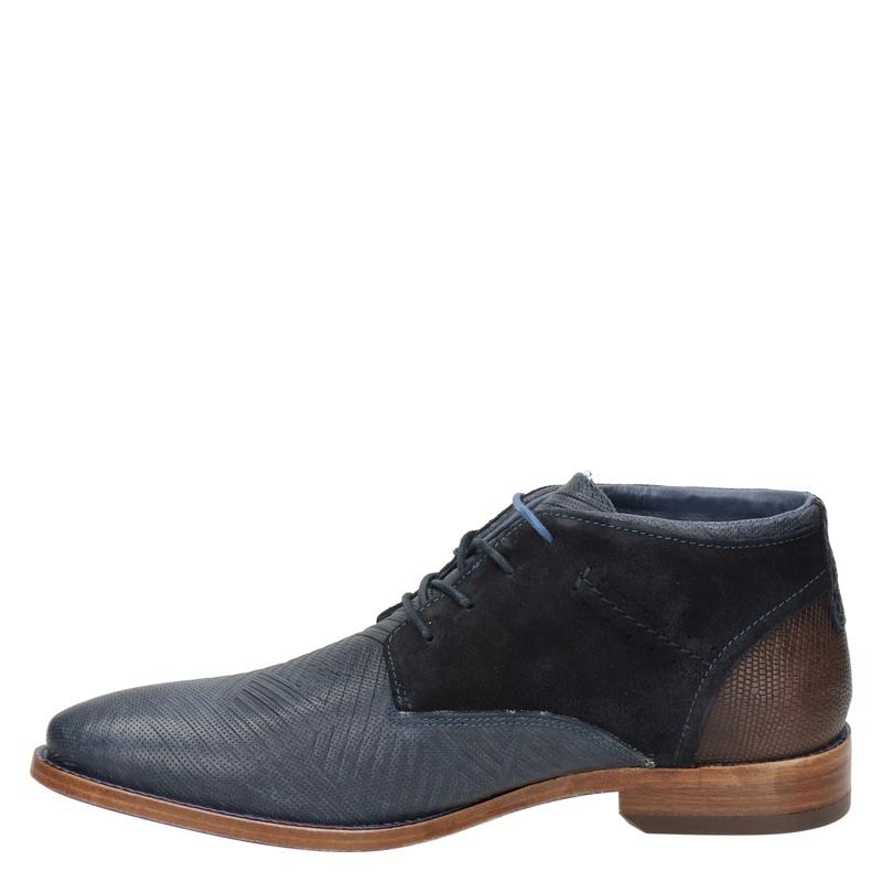 Rehab Salvador Zig Zag - Hoge nette schoenen - Blauw