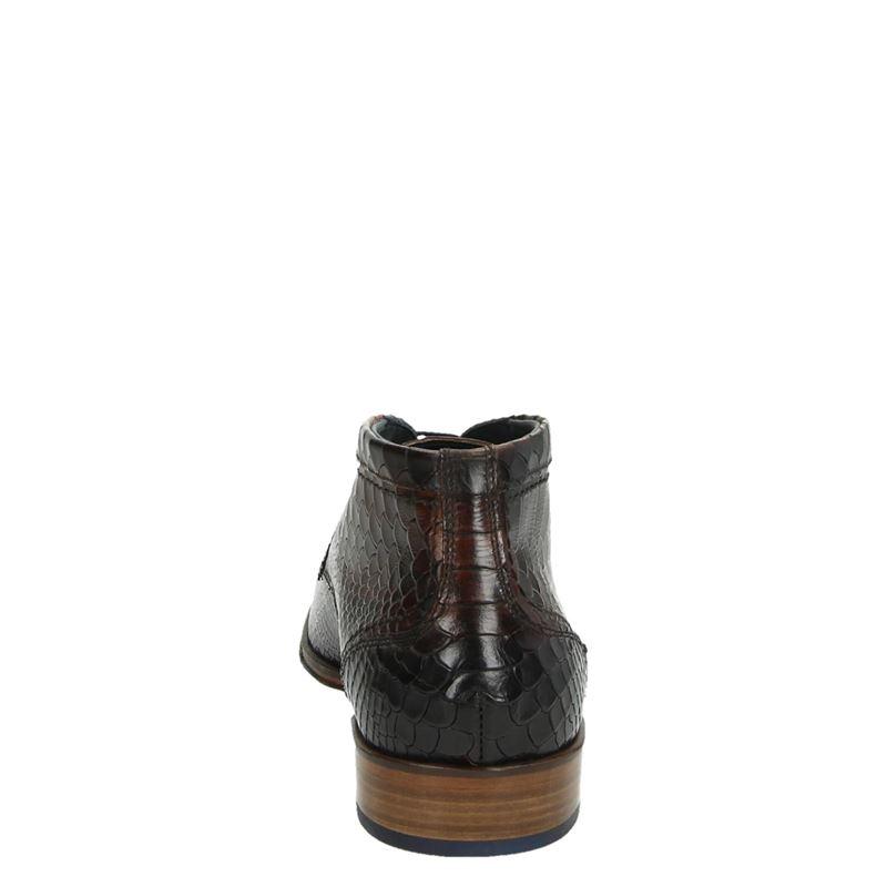 Lorenzi - Hoge nette schoenen - Cognac