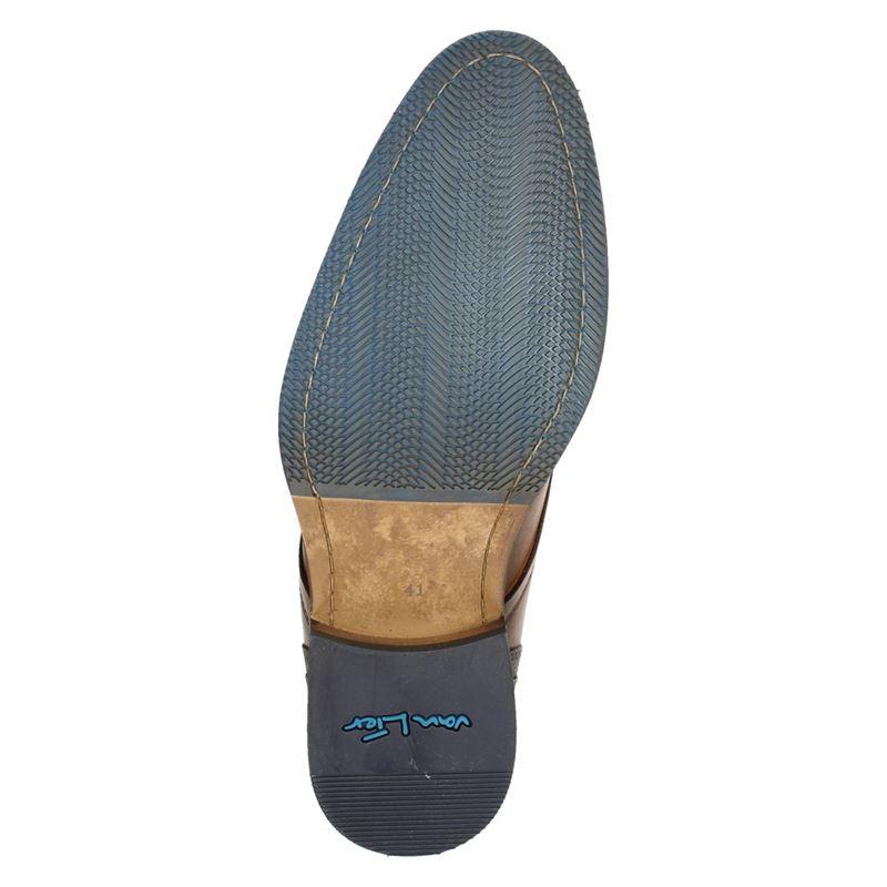 Van Lier - Hoge nette schoenen - Cognac