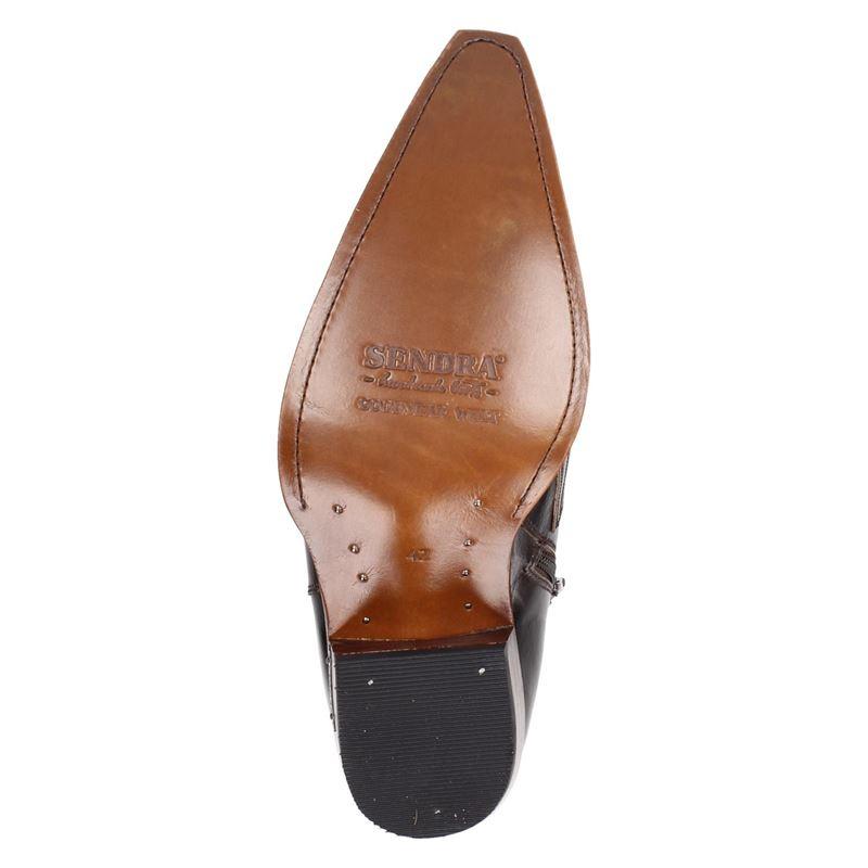 Sendra 12185 Mimo - Rits- & gesloten boots - Bruin