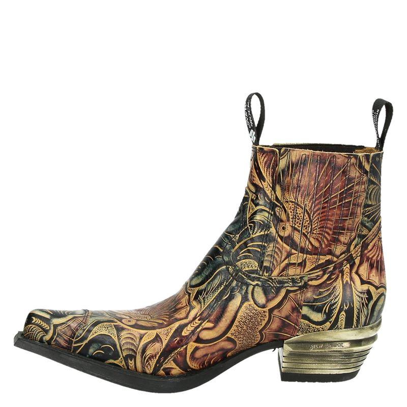 New Rock Dallas - Cowboylaarzen - Bruin