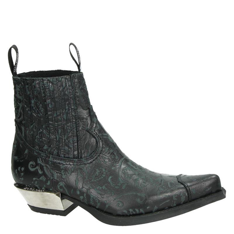 New Rock Dallas - Cowboylaarzen - Zwart
