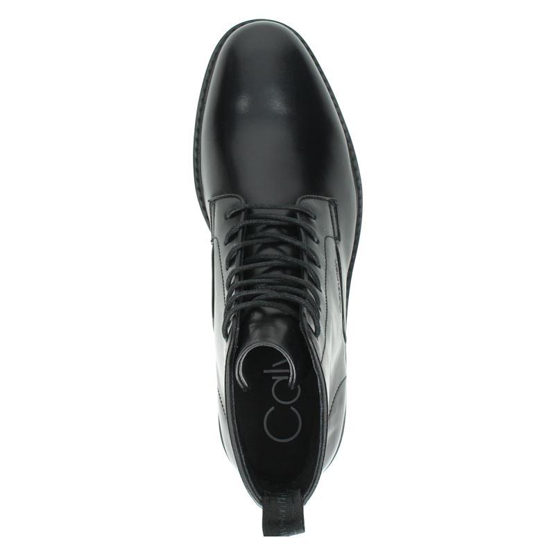 Calvin Klein Forden - Veterboots - Zwart