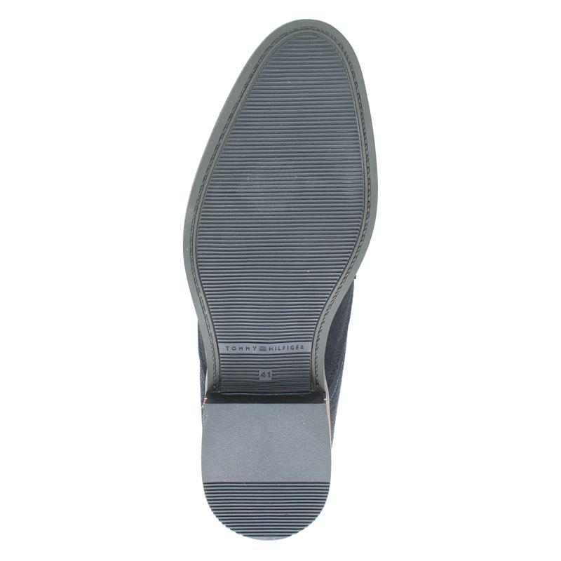 Tommy Hilfiger Sport Signature - Lage nette schoenen - Blauw