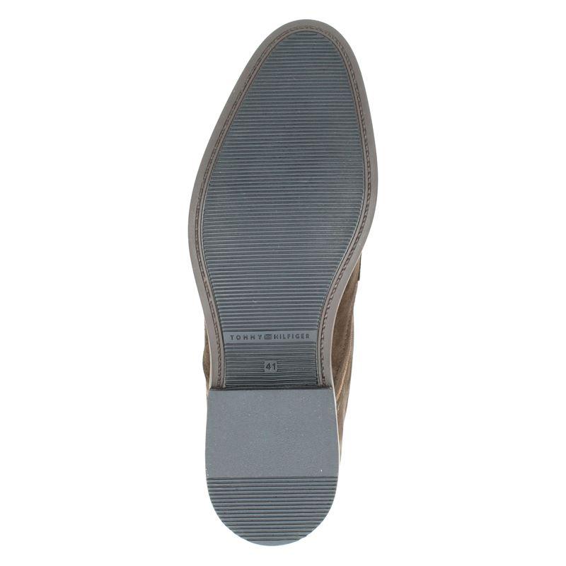 Tommy Hilfiger Sport Signature - Lage nette schoenen - Bruin