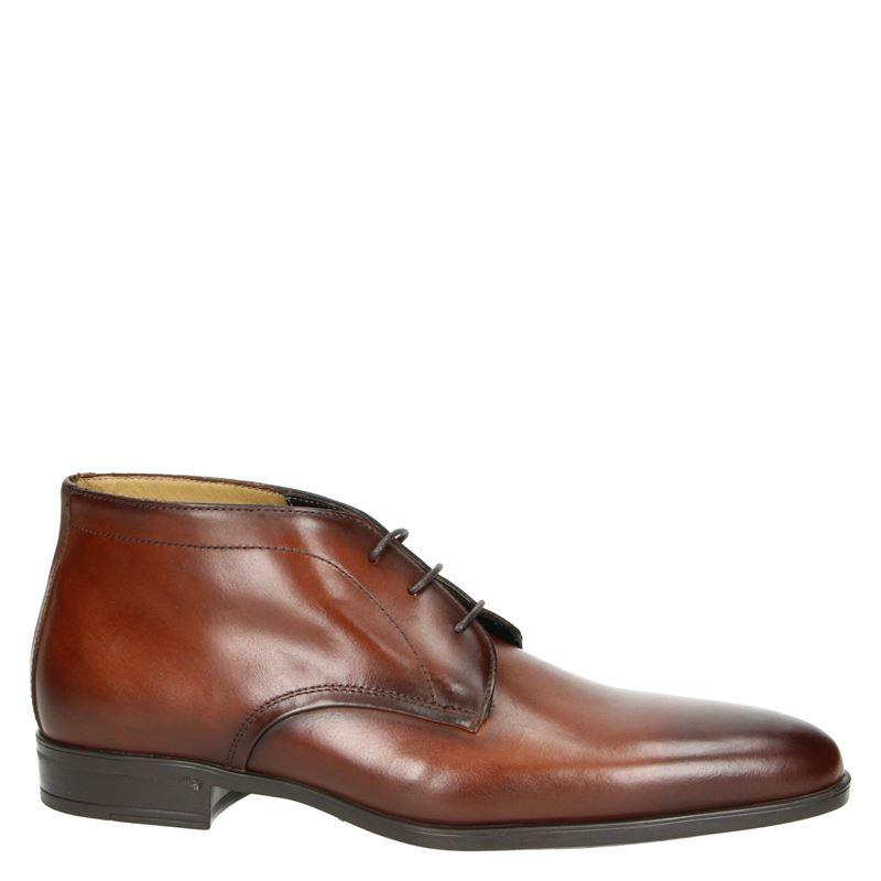 Giorgio - Hoge nette schoenen - Cognac