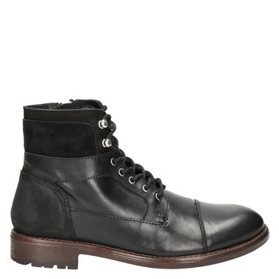 Nelson heren boots zwart