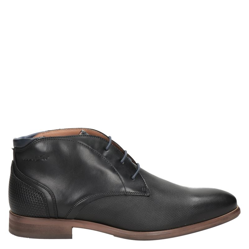 Van Lier - Hoge nette schoenen - Zwart