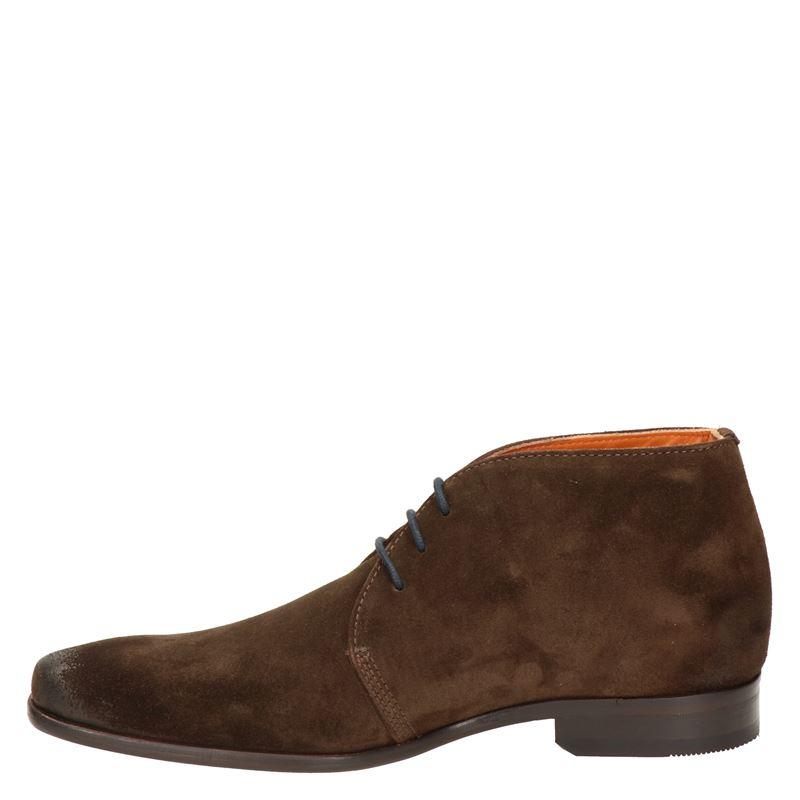 Van Lier - Hoge nette schoenen - Bruin