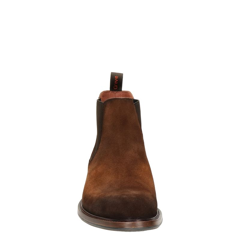 Greve - Chelseaboots - Cognac