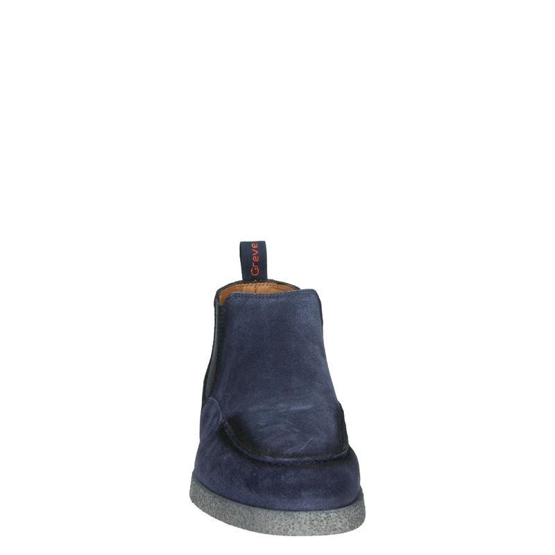 Greve Tufo - Chelseaboots - Blauw