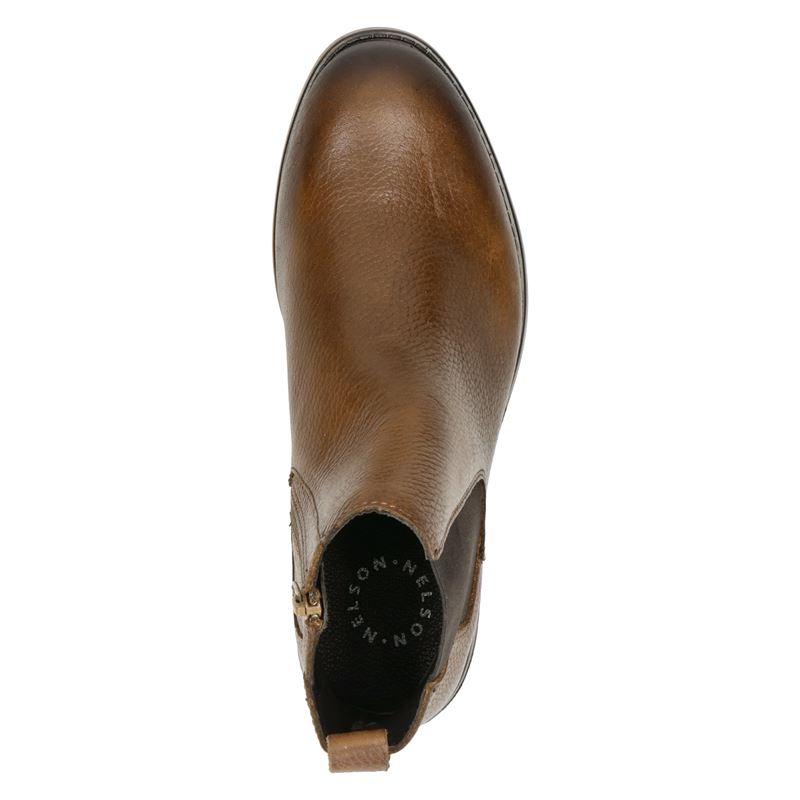 Nelson - Chelseaboots - Cognac
