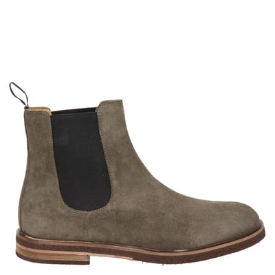 Nelson - Chelseaboots - Taupe