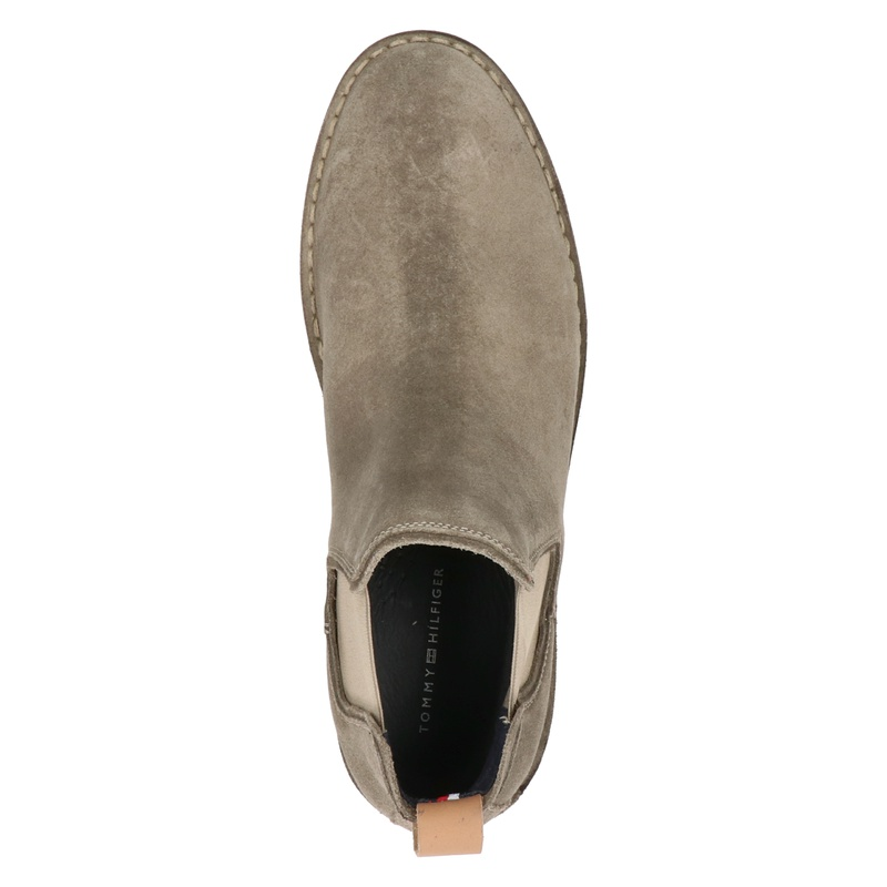 Tommy Hilfiger Sport Stitchdown - Chelseaboots - Taupe