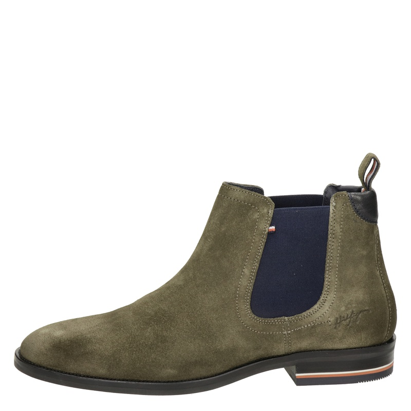 Tommy Hilfiger Sport Signature - Chelseaboots - Taupe