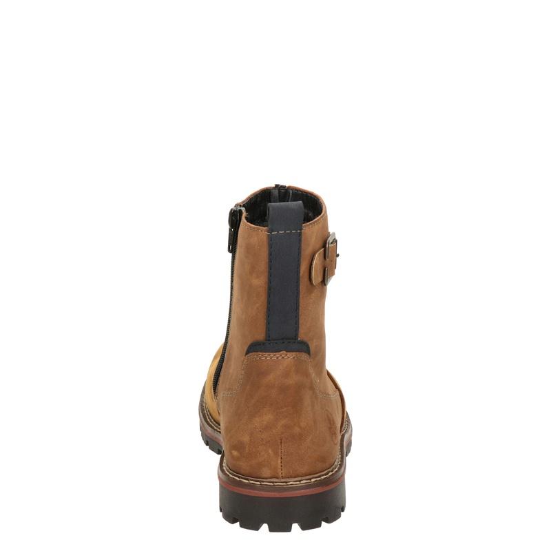 Rieker - Rits- & gesloten boots - Cognac