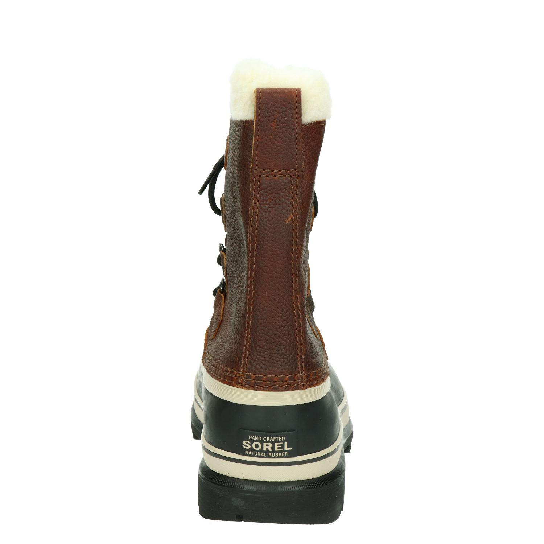 Sorel Caribou Snowboots voor heren Cognac Nelson.nl