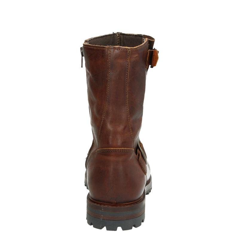 Nelson - Rits- & gesloten boots - Cognac
