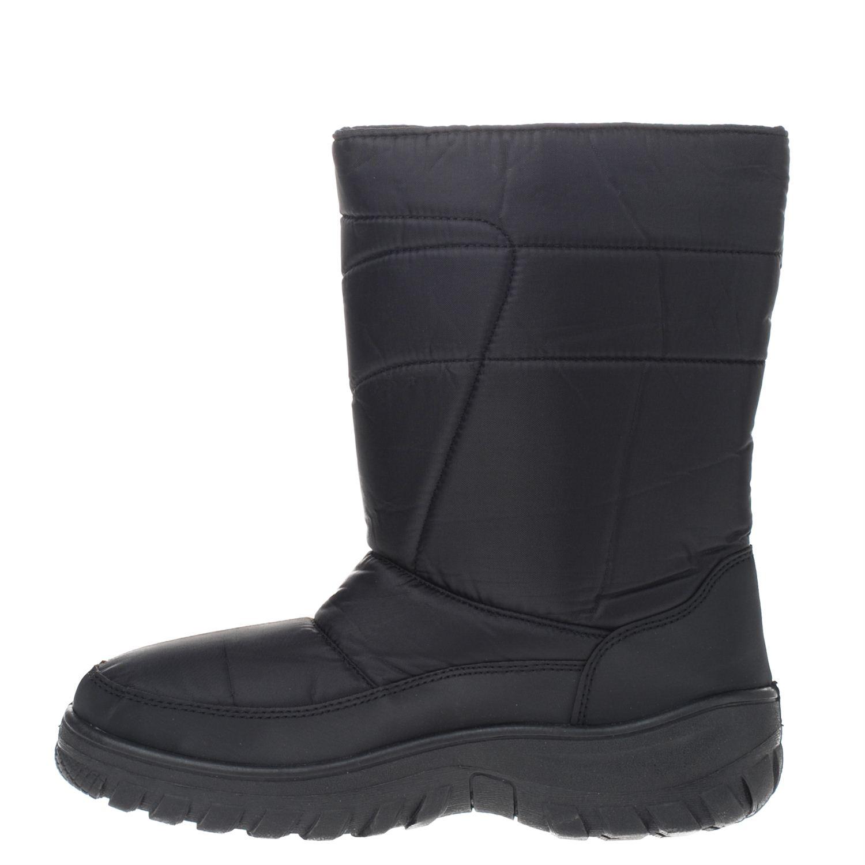 Chaussures Fun Neige Noir Avec Velcro Pour Les Hommes DnLRwnQLa