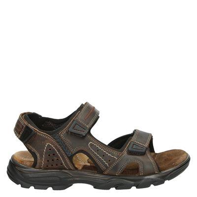 Nelson heren sandalen bruin