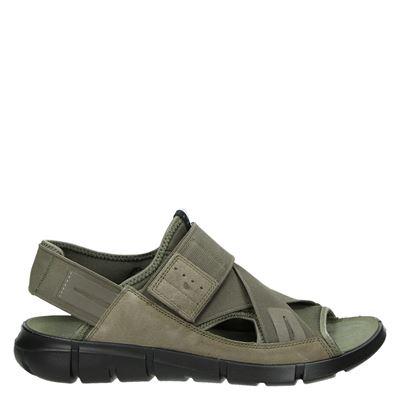Ecco heren sandalen taupe