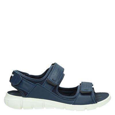 Ecco heren sandalen blauw