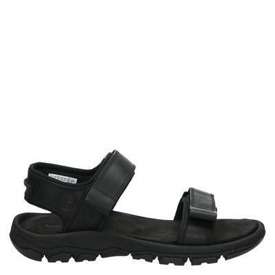 Timberland heren sandalen zwart
