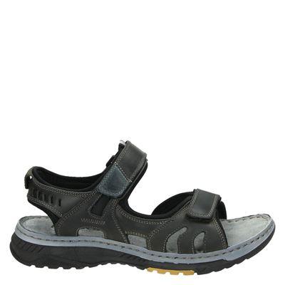 Nelson heren sandalen grijs