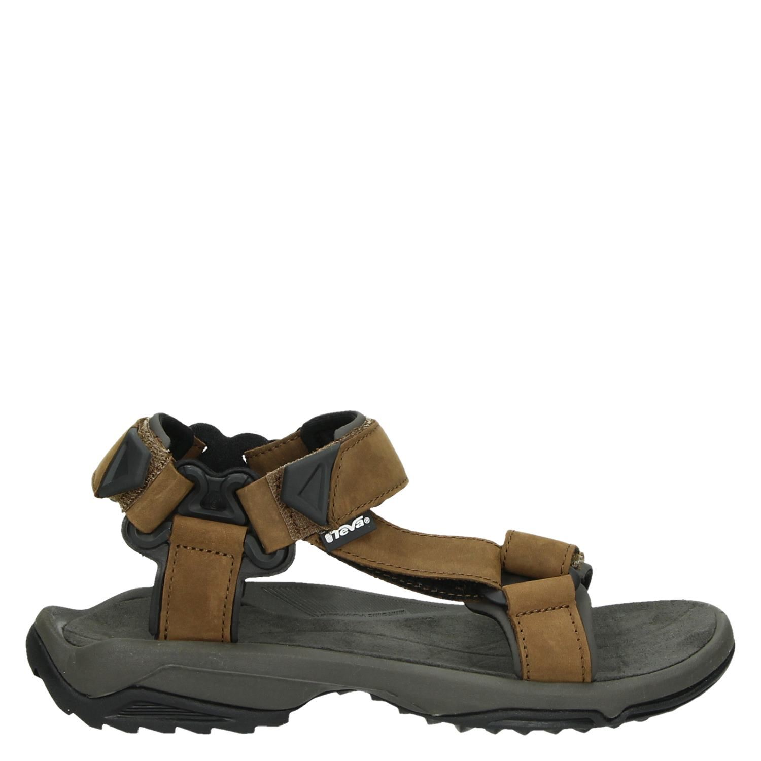 80d158bd101b43 Teva Terra Filite Leather heren sandalen bruin