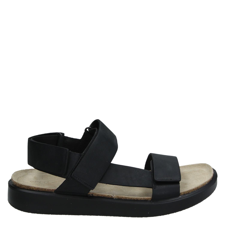 pretty nice 5397b f0326 Ecco Corksphere heren sandalen zwart